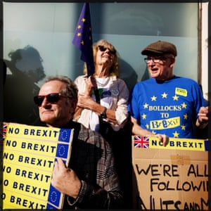 Loud and clear: 'No to Brexit'.