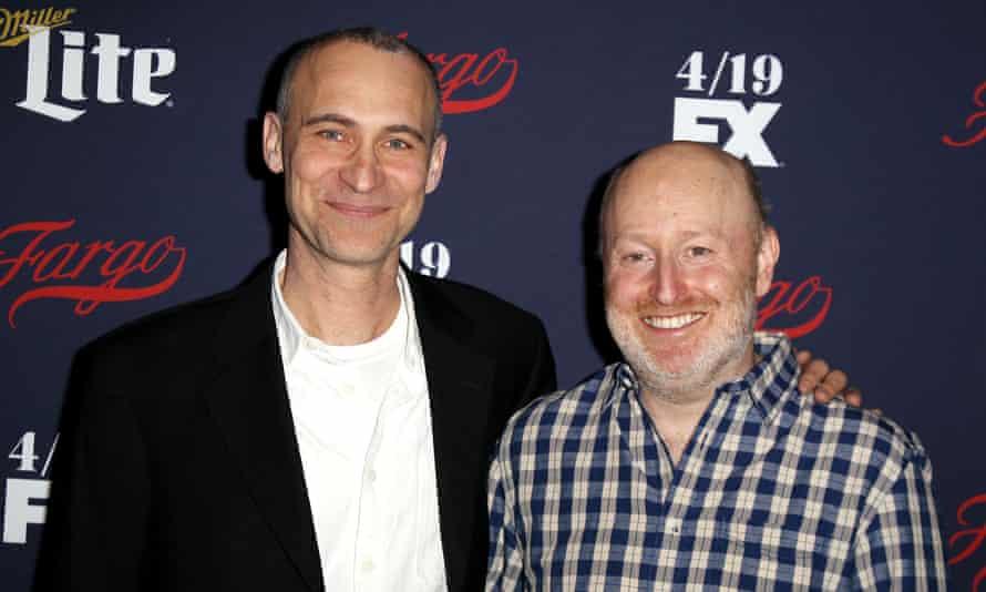 Americans fellows … Series creators Joel Fields and Joe Weisberg.