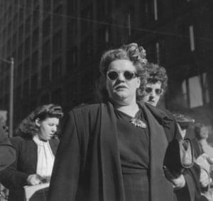 Shoppers, Randolph Street, Chicago, 1946