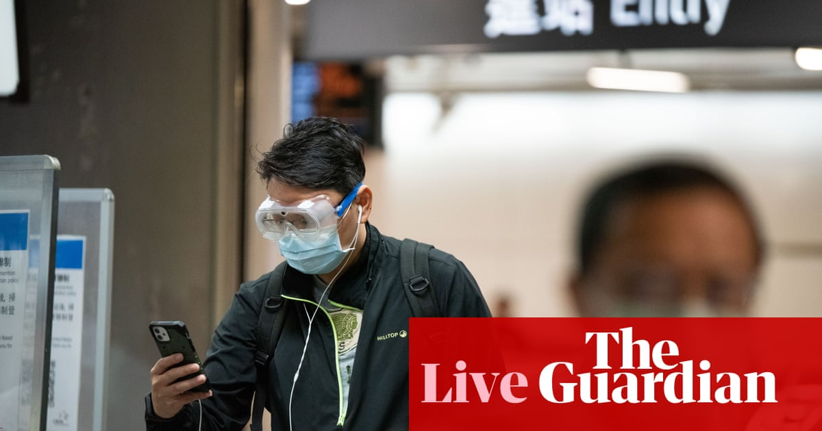 Coronavirus live news: Covid jabs opened up to people aged 32 and 33 in England; Taiwan reports 321 new cases
