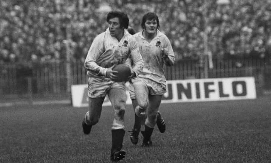 John Pullin playing for England against Wales in 1975.
