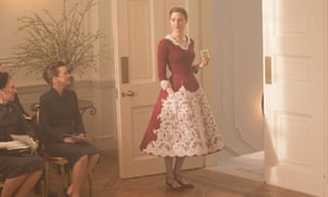 Lesley Manville and Vicky Krieps in a scene from Phantom Thread.