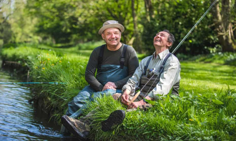 Bob Mortimer and Paul Whitehouse in Gone Fishing