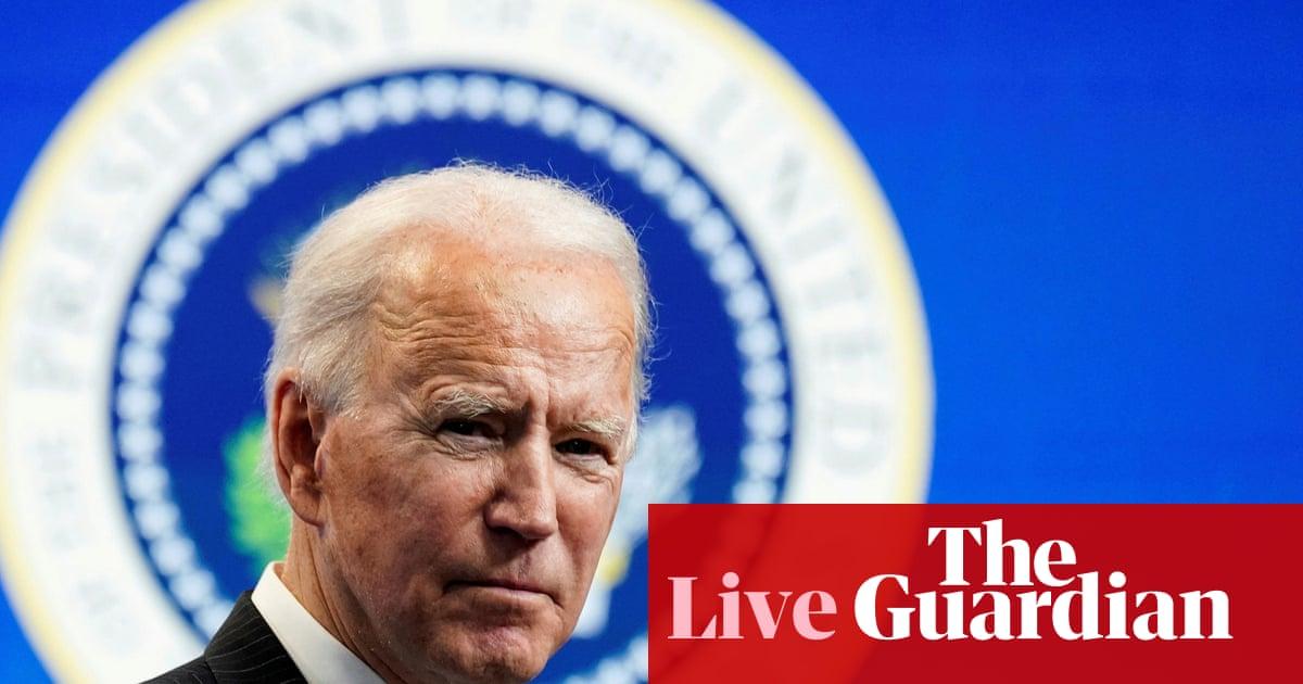 Joe Biden to stress green jobs as key to tackling crisis at climate summit – live
