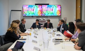 Panellists at the recent roundtable on tackling plastic waste.