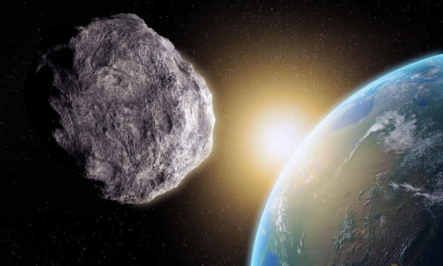 This large asteroid closing in on Earth is not real and is not going to destroy us all.