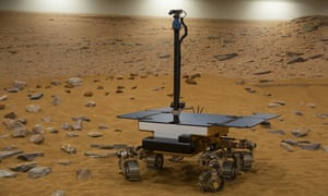 The European-Russian rover Rosalind Franklin.
