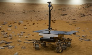 A working prototype of the ExoMars rover