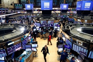 The floor of the New York Stock Exchange (NYSE) today.