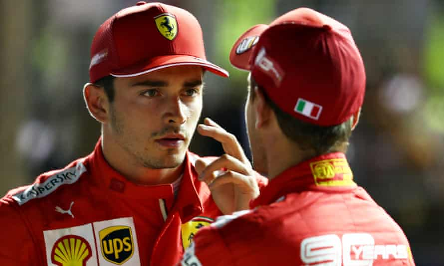 Charles Leclerc and Sebastian Vettel have been summoned to explain the collision that ended the hopes of both Ferraris.