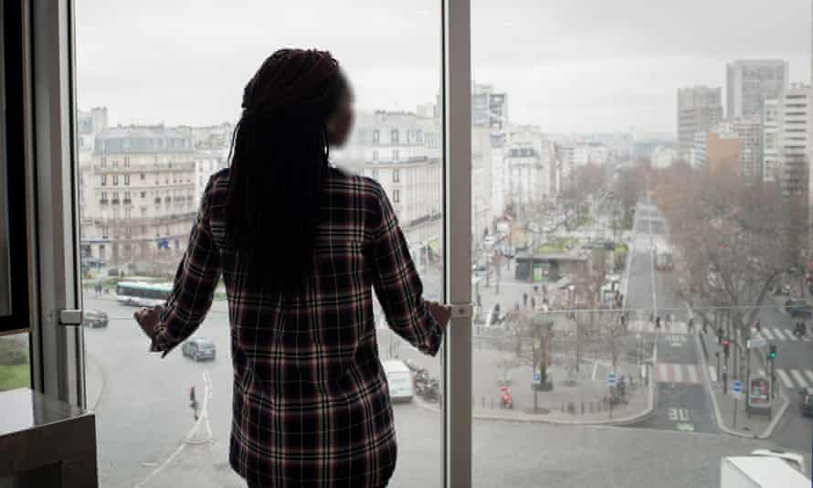 On arriving back in France, Sophie Kasiki was interrogated and jailed for two months. Even now, she protects her identity.