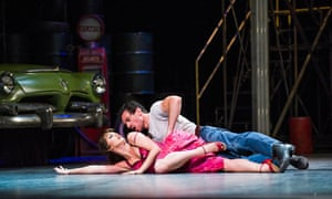 Ashley Shaw and Jonathan Ollivier in The Car Man.