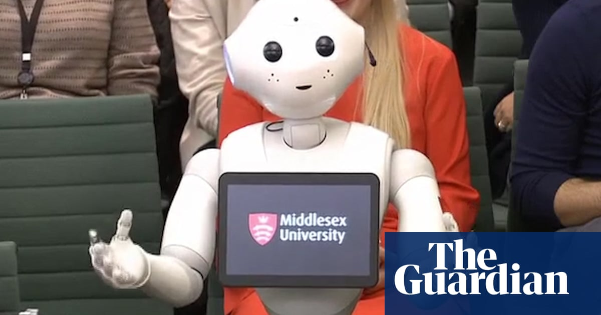 Pepper the robot answers MPs' questions – videos