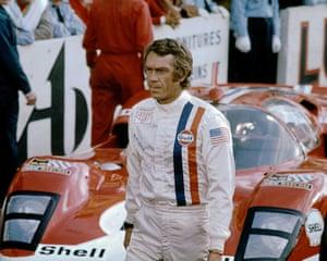 Steve McQueen in Le Mans.