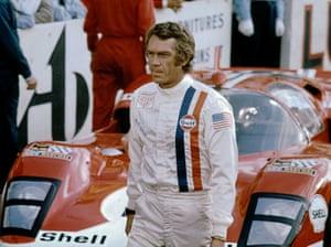The Hinchman Nomex racing suit worn by Steve McQueen in Le Mans fetched nearly $1m at auction in 2011. For four decades, it was owned by Timothy Davies, who won the costume in a studio-sponsored contest when he was 12.