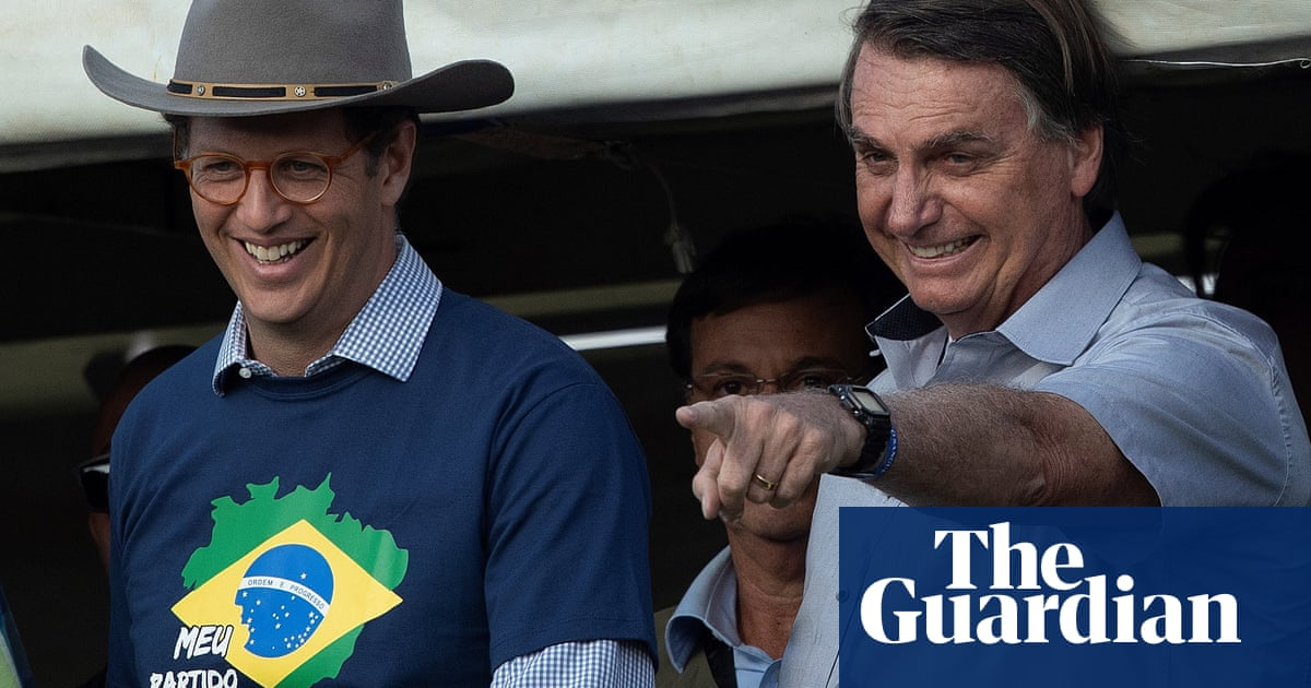 Brazilian police raid environment ministry over 'illegal' timber sales