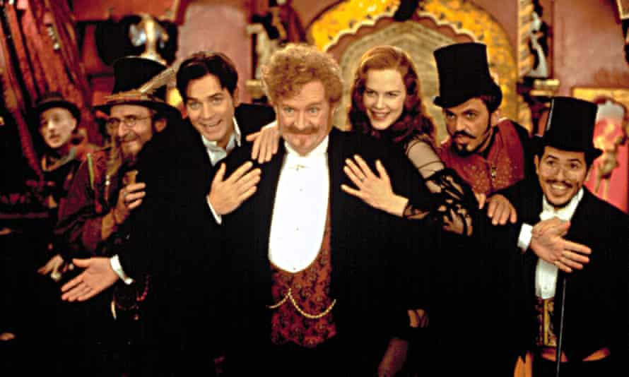 Moulin Rouge! with Matthew Whittet, Garry McDonald, Ewan McGregor, Jim Broadbent, Nicole Kidman, Jacek Koman and John Leguizamo.