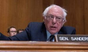 Bernie Sanders said it's Wheeler's job to lead on climate.