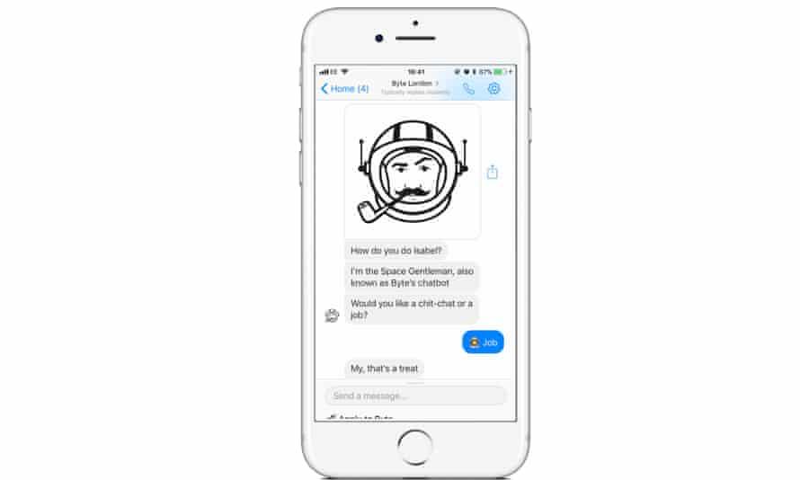 Byte's recruitment chatbot