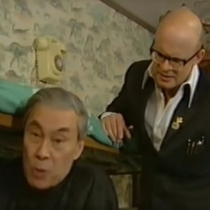 Burt Kwouk on Harry Hill, C4, 1997
