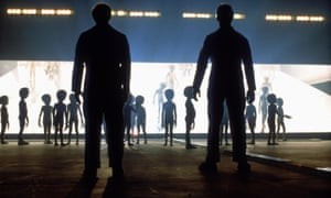 Sci-fi touchstone … Close Encounters of the Third Kind.