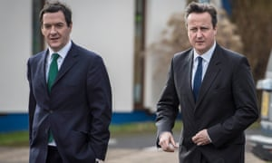 Architects of austerity: George Osborne and David Cameron in 2015.