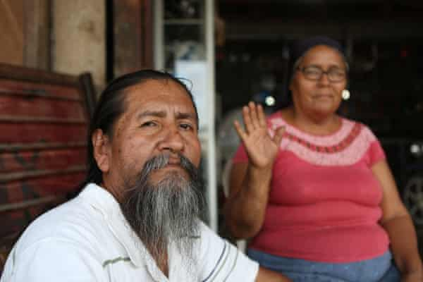 Samuel Tecse Barrios, 57, belongs to a Peruvian sect known as the Israelites of the New Universal Pact who believe Peru is the promised land.