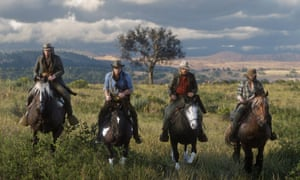 'An astonishing recreation of the old west' ... Red Dead Redemption 2.