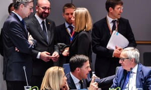 European council spring meeting in Brussels