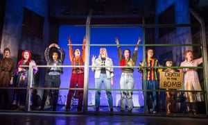 A scene from Beyond The Fence @ Arts Theatre, London