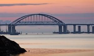 Kerch strait bridge