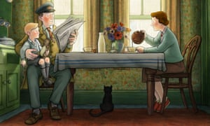 A scene from Ethel & Ernest, which required 65,000 animation drawings