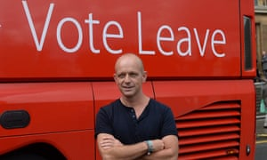 Steve Hilton and Vote Leave bus