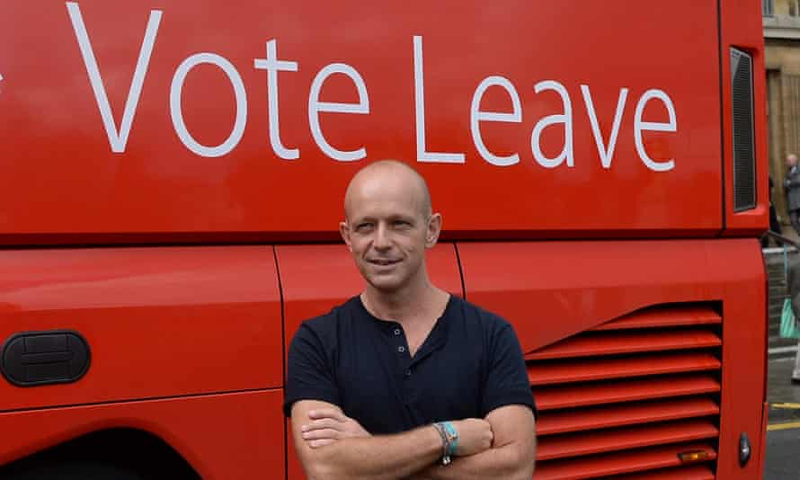 Steve Hilton and Vote Leave bus