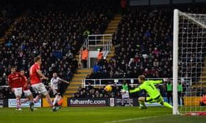 Scott Malone scored a cracker for Fulham against Barnsley.