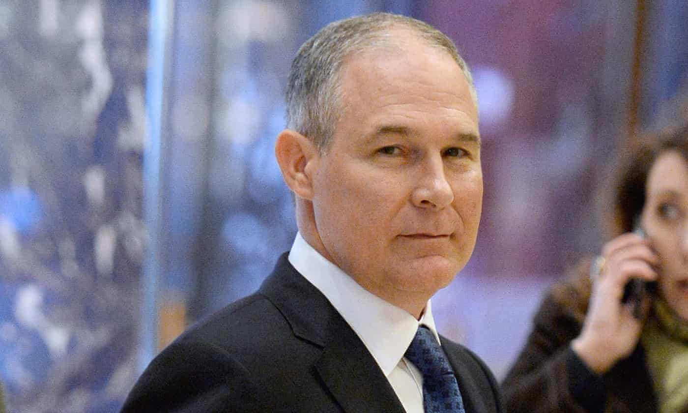 Scott Pruitt's EPA: a dream for oil and gas firms is nightmare for environment