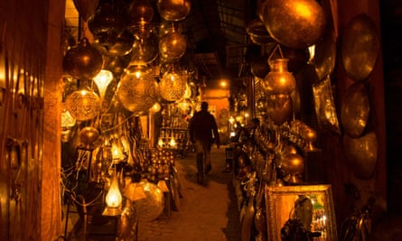 Walking the streets of the old medina of Marrakech can be disorientating – just like climate talks.