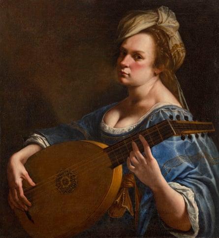 Artemisia Gentileschi's Self-Portrait as a Lute Player.