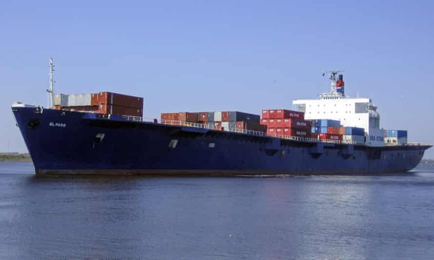 Cargo ship El Faro went missing off the Bahamas on Thursday.