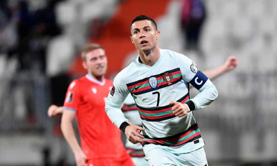 Cristiano Ronaldo was on target once more for Portugal.