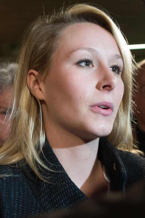 Marion Maréchal-Le Pen MP, granddaughter of Jean-Marie Le Pen.