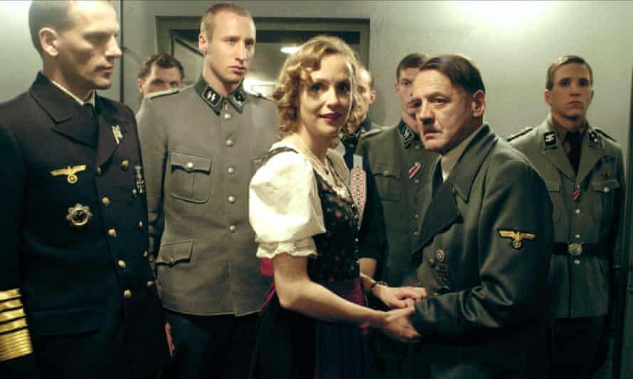 Juliane Köhler and Bruno Ganz in Downfall