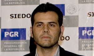 Vicente Zambada Niebla in 2009, following his arrest in Mexico City.