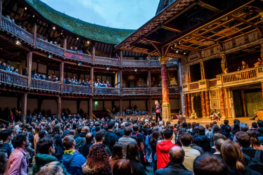As you like it … a seat among the groundlings at Shakespeare's Globe is a thrill.