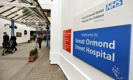Great Ormond Street hospital for children in London.
