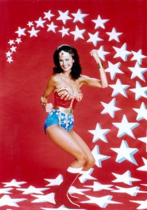 Lynda Carter, star of the 1970s TV series Wonder Woman.