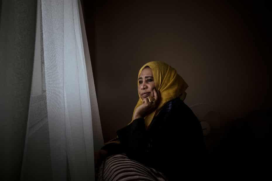 Awatif Taha, originally from Sudan, has lived on the Flemington estate for 18 years.