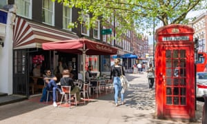 'Hampstead is full of highly educated people who don't hold back': a local gives her point of view, at the Coffee Cup cafe on Hampstead high street