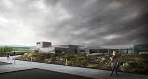 Artist's impression of the Iceland Volcano & Earthquake Centre, which opens on 1 June