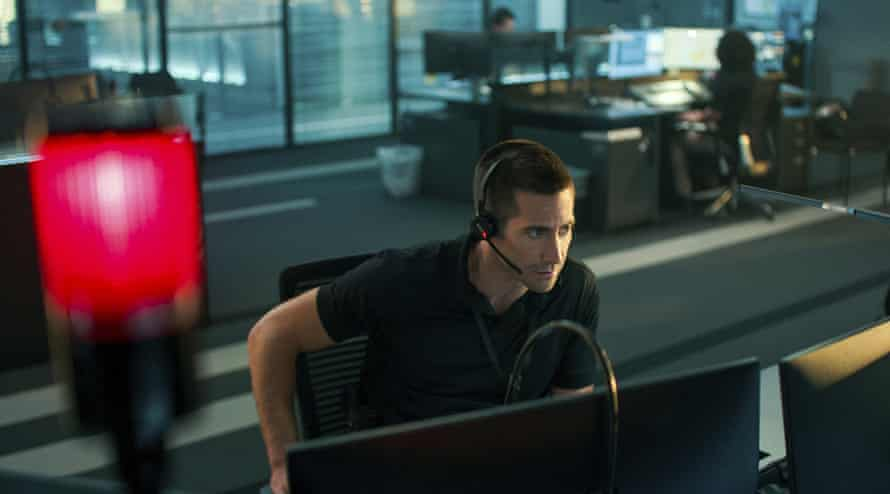 Panic stations … Jake Gyllenhaal in The Guilty.